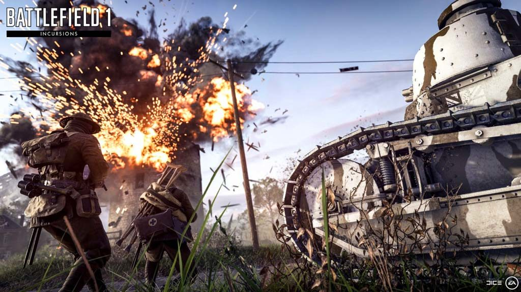 Battlefield 1 Incursions gameplay para eSports