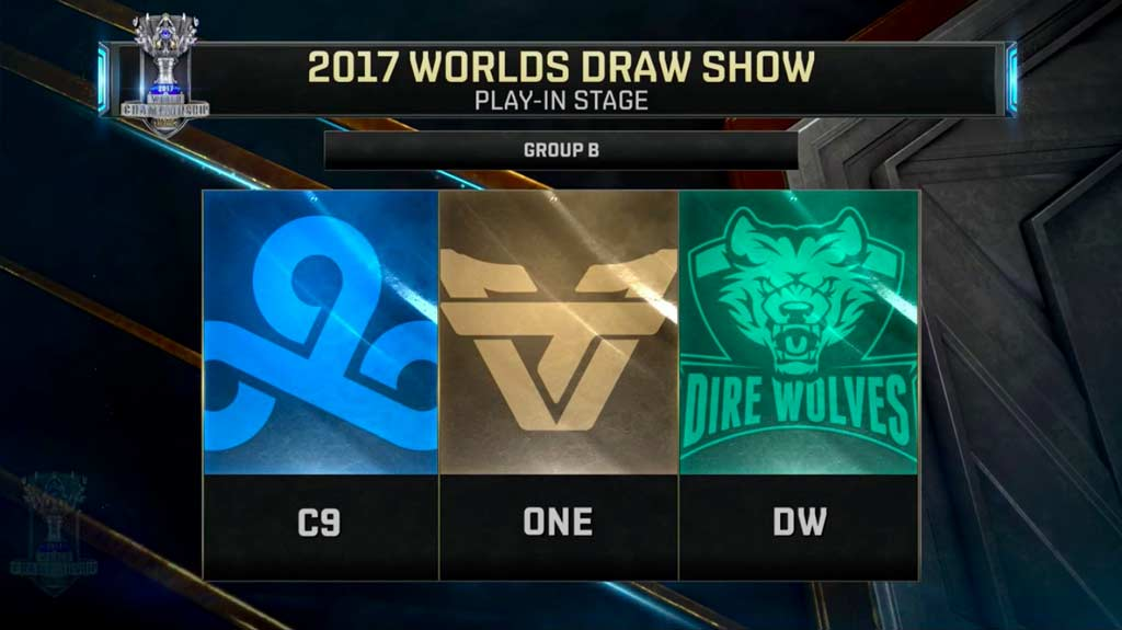 Play-in stage Grupo B: Cloud9, Team oNe Esports y Dire Wolves